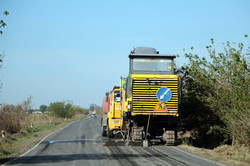 Ремонт трассы Одесса - Рени почти завершен (ФОТО)