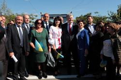 Порошенко проинспектировал реконструкцию трассы «Одесса – Рени» (ФОТО)