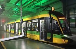 В Познани прошла презентация нового трамвая