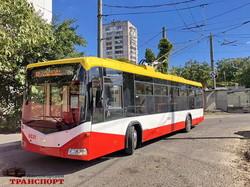 Одесса уже получила все 47 новых троллейбусов по кредиту ЕБРР (ФОТО)