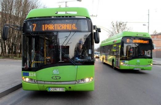 Каунас потратит почти 30 миллионов евро на закупку новых троллейбусов