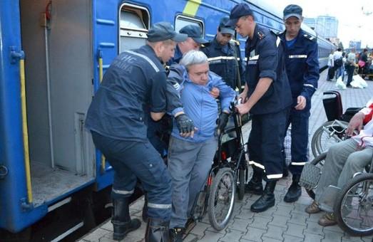 «Укрзализныця» позаботилась об инвалидах на полмиллиона гривен