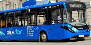 В Великобритании начали эксплуатацию автобуса, который очищает воздух