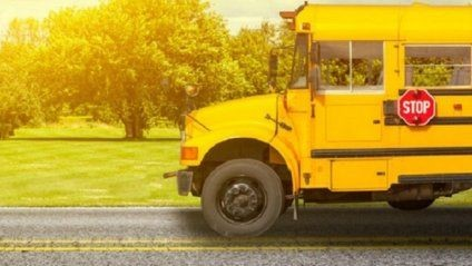 Школьный автобус в США разогнали почти до 600 км. в час