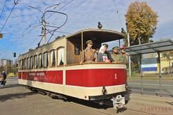 В Виннице все желающие могли прокатиться на ретро-трамвае