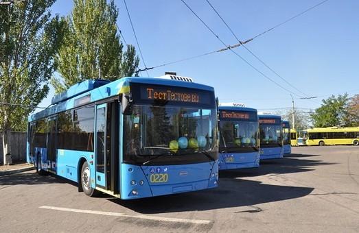 В Краматорске открыли новый троллейбусный маршрут