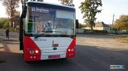 В Авдеевке на маршрут вышел новый рейсовый автобус