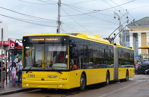 Киев объявил тендер на закупку троллейбусов