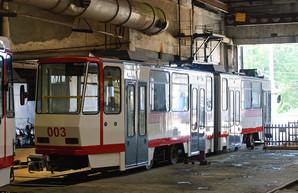В Запорожье на линию вышли еще два трамвая из Берлина