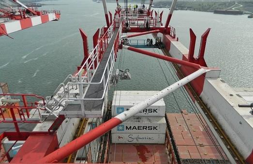 Одесский морской порт – лидер по перевалке контейнеров в Украине