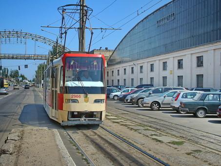 В Одессе отменили две трамвайные остановки