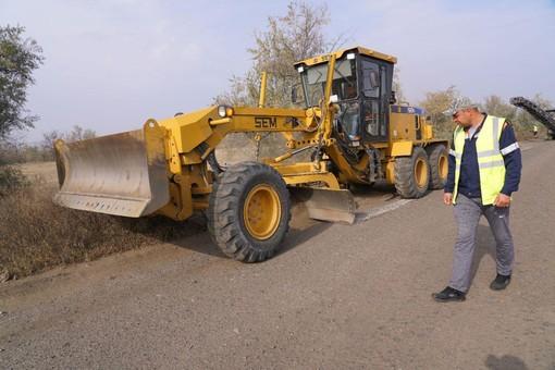 В Одесской области начали ремонт дороги от Сараты до молдавской границы (ФОТО)