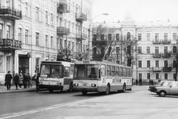 Троллейбусы Киевского завода электротранспорта и их работа в Одессе