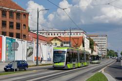 Трамваи стали визитной карточкой Ольштына
