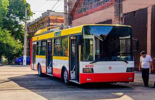 В Одессе каждый месяц будут производить по электробусу