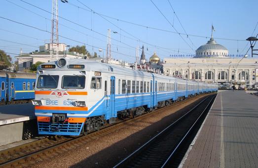 На Одесской железной дороге начала работать электричка после капремонта