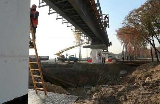 «Укрзализныця» уже закончила строительство железнодорожной эстакады на ветке к Борисполе