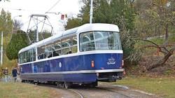 В Праге презентовали экскурсионный трамвай «Tatra T3»-купе