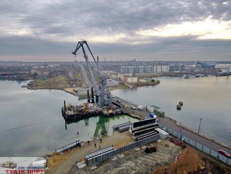 Черноморск получил еще 30 миллионов гривен на мост через Сухой лиман