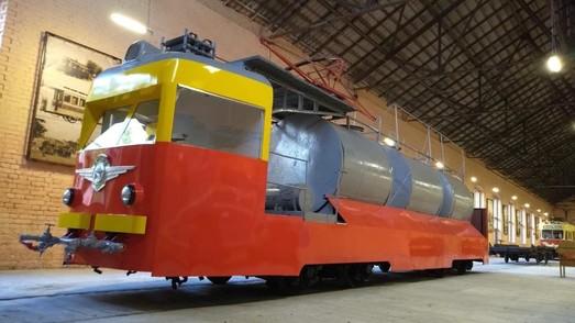 В Одессе отреставрировали для музея еще один ретро-трамвай (ФОТО)