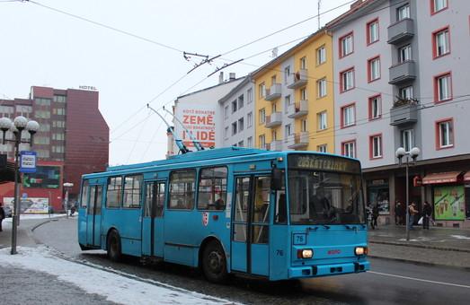 В чешской Опаве скоро попрощаются с троллейбусами «Skoda 14Tr»