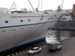 Как Одессу 10 лет назад в последний раз посетил последний советский лайнер (ФОТО)