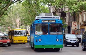 В Одессе троллейбусы изменят свои маршруты по улице Ришельевской