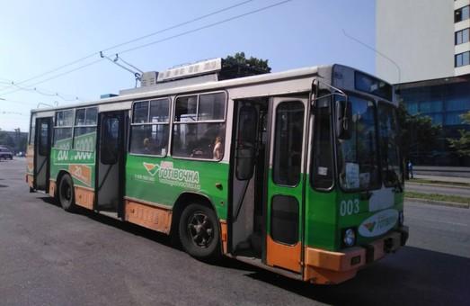 В Запорожье водители трамваев и троллейбусов уходят с работы