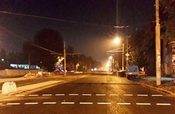 За октябрь в Одессе нанесли разметку на 37 участках улиц