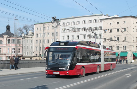 В Зальцбурге хотят приобрести 50 новых троллейбусов