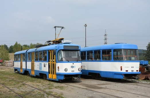 Острава попрощалась с трамваями «Tatra K2»