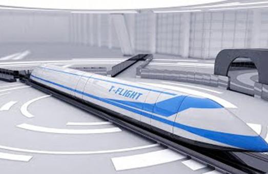 В Китае решили построить сверхзвуковой пассажирский поезд