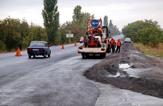 Одесская область смогла освоить чуть больше половины средств на ремонт местных дорог
