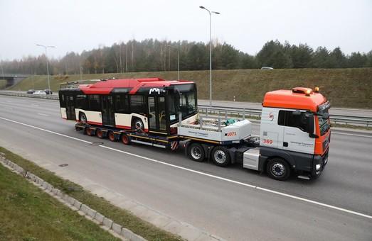В Вильнюс уже прибыл первый троллейбус «Solaris Trollino IV 12»
