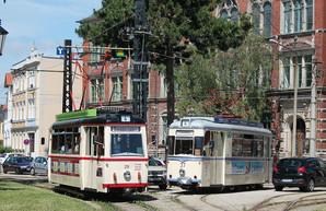 Трамвайный музей на улицах Наумбурга