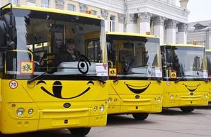 Житомирская область получила 20 новых школьных автобусов