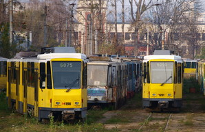 Во Львов доставили уже все 30 трамваев из Берлина