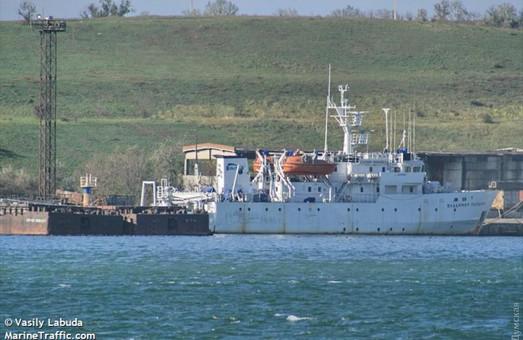 В Одесской области отремонтируют уникальное научно-исследовательское судно