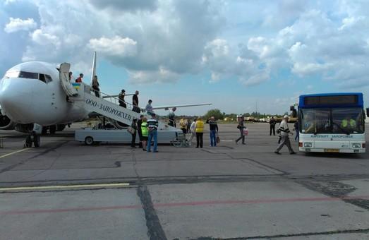 Аэропорт Запорожья с начала года обслужил треть миллиона пассажиров