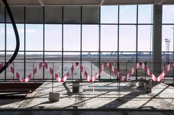 В Запорожье показали, как идут работы по строительству нового терминала в аэропорту