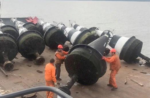 На реках Украины заканчивается навигация