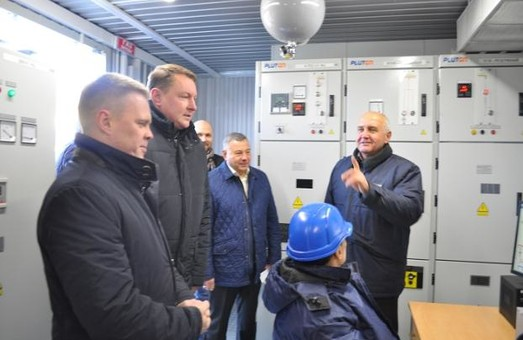 В Краматорске ввели в эксплуатацию новую тяговую подстанцию электротранспорта