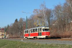 Вчера в Либереце попрощались с трамваями «Tatra T2» на маршрутах