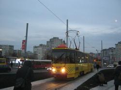 Два года назад во Львове трамваи с пассажирами поехали на Сихов