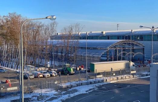 В аэропорту Борисполе уже завершают строительство железнодорожной станции