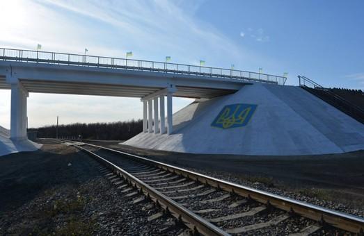 В Луганской области восстановили путепровод над железной дорогой