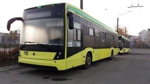 Во Львове семь троллейбусов «Электрон» вышли из строя и простаивают в депо