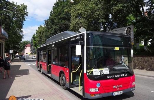 Тернополь приобрел 20 подержанных автобусов большого класса