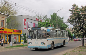 В Северодонецке большие проблемы с движением троллейбусов