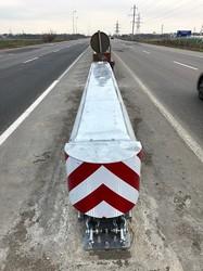 В Одесской области на дорогах появятся безопасные «отбойники»